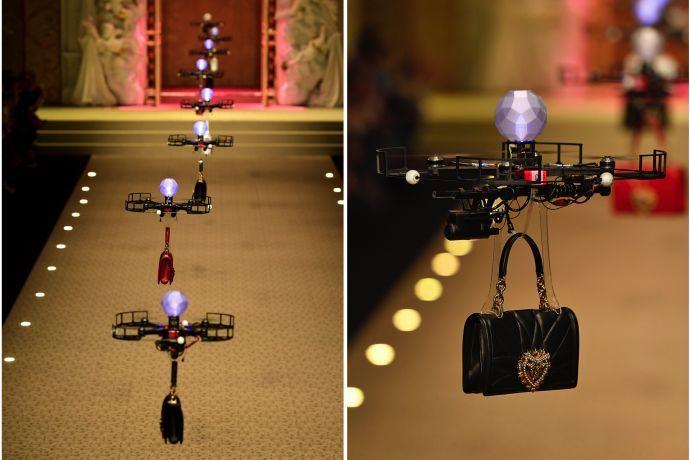 Dolce&Gabbana Drone fashion show
